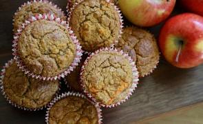 Owsiane babeczki jabłkowe – samo zdrowie!