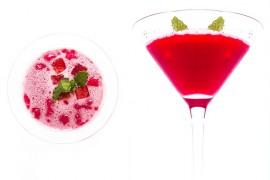 Drink z arbuza i mięty