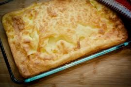 Pieczona POLENTA z serem