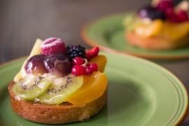 Minideser: tartaletka z owocami