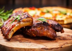 Żeberka w sosie BBQ – amerykański przepis