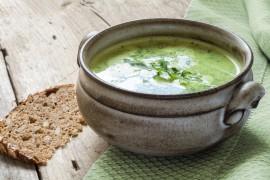 Zupa szpinakowo-bazyliowa