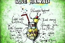 Wakacyjny drink – BLUE HAWAII