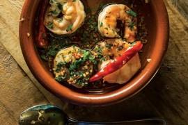 Hiszpańskie smaki: GAMBAS AL AJILLO