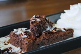 Czekoladowe brownie z kaszy jaglanej
