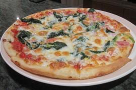 Łatwa & pyszna pizza ze szpinakiem