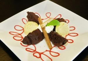 Czekoladowe ciasto z kaszy jaglanej
