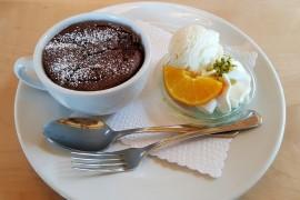 Ekspresowy deser czekoladowy PIECZONY