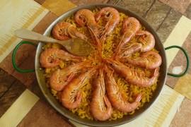 Makaron fiduea z krewetkami – kuchnia hiszpańska!
