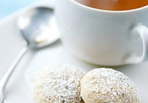 Herbaciane ciasteczka z nutą jaśminu