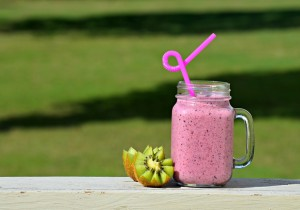Shake jogurtowo- truskawkowy