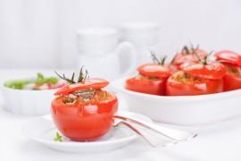 Pomidory zapiekane na ostro