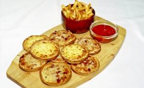 Talarki z ziemniaków zapiekane serem