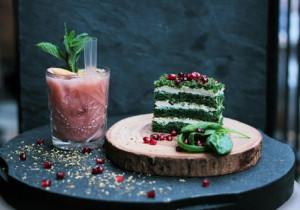 Ciasto z mrożonego szpinaku z masą mascarpone