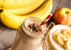 Koktajl bananowy z kakao