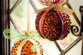 10 pomysłów na ozdoby świąteczne z cytrusów