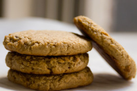 Ciasteczka jaglano- migdałowe fit