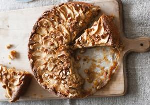 Ciasto gryczane z jabłkami