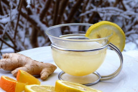 Rozgrzewająca herbatka imbirowa – idealna na zimę!