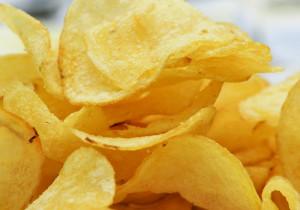 Domowe chipsy czosnkowe