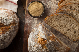 Prosty chleb z amarantusem