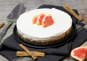 Dietetyczne ciasto grejpfrutowe