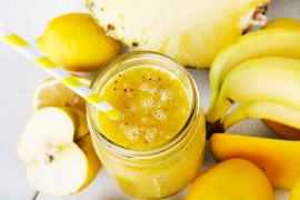 Żółty koktajl na przeziębienie