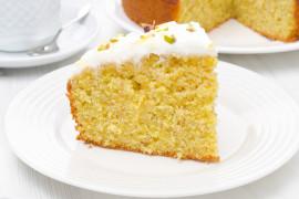 Wilgotne, delikatne ciasto pomarańczowe