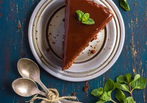 MEGA czekoladowe ciasto z miętą