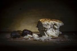Chleb z suszonymi figami