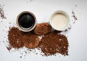 Ciasteczka kawowe z ciecierzycy