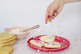 Walentynkowe ciasteczka z lukrem