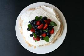 Tort bezowy bez grama cukru!