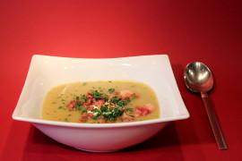 Zupa krem ziemniaczany z chrzanem