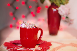 Walentynkowa czekolada na gorąco
