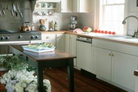 Wyspa w małej kuchni- inspiracje