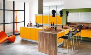 Niebanalne pomysły na urządzenie kolorowej kuchni!