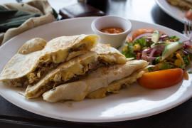 Quesadillas z wołowiną i serem