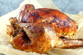 Kurczak z piekarnika w chrupiącej skórce