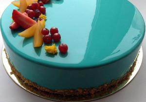 Mirror glaze- lustrzana polewa do tortów i ciast