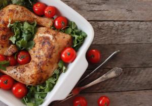 Udka z kurczaka w sosie miodowym