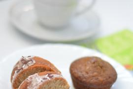 Muffinki herbaciane z matchą