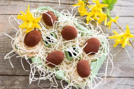 Wielkanocne jajka czekoladowe