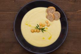Zupa krem z ciecierzycy i pora