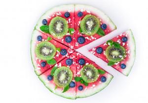 🍉 TYDZIEŃ ARBUZOWY🍉 : Pizza z arbuza plus owocowe dodatki