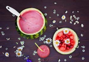 🍉 TYDZIEŃ ARBUZOWY🍉 : Koktajl z arbuza i melona