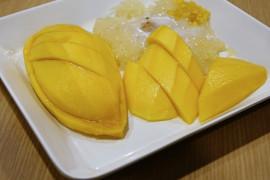 Szybkie śniadanie- ryż z mango
