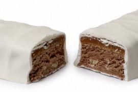 Batoniki z białej czekolady plus dodatki