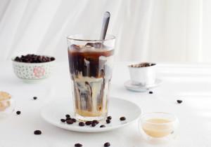 Kawa mrożona z mlekiem skondensowanym