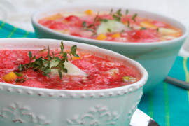 Gazpacho z grzankami